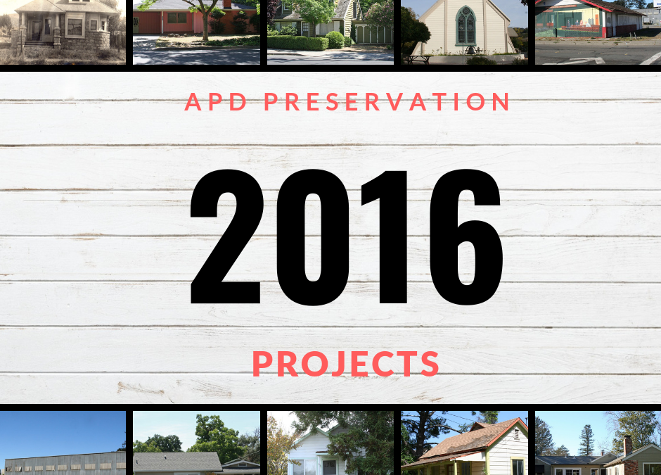 2016 Projects
